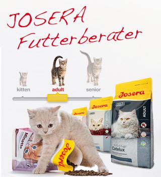 JOSERA Klinken Katzenfutter Berater